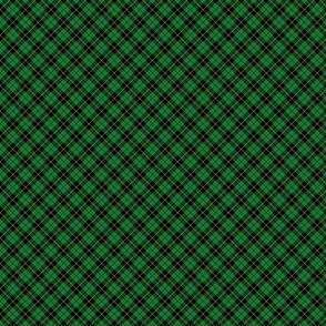 "Wallace hunting tartan, 1"" diagonal"