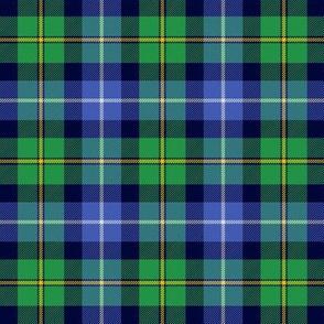 """MacNeil tartan, 3"""" blue and green"""