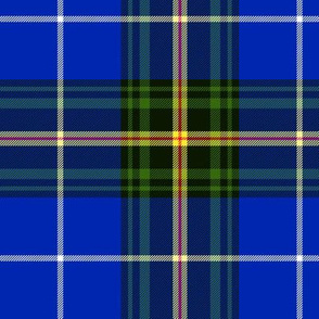 "Nova Scotia official tartan, 6"" dark saturated"