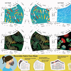 Face Mask Sewing Pattern 2