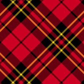 "Brodie clan tartan, 4"" diagonal"