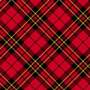 "Brodie clan tartan, 3"" diagonal"