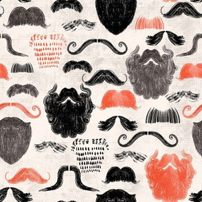 Men's Beards and Moustaches