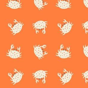 Orange Crabs, Large