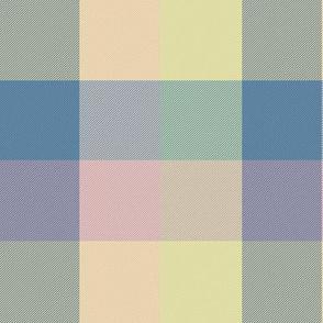 "simple 2""madras - updated custom pink/blue/yellow pastel"