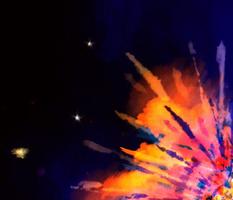 Tie Dye Big Bang