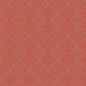 Embossed Persian Scarlett (Seamless Repeating Pattern)