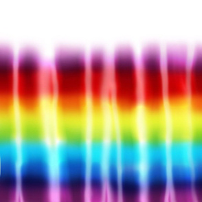 Rainbow Dip Dyed