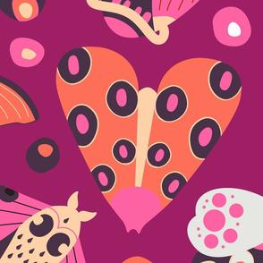 Merry Moth Pattern