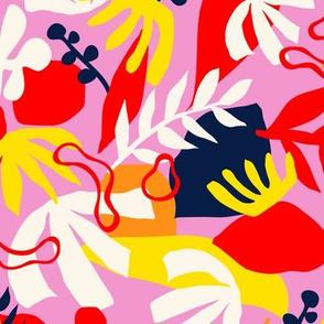 Floral Shapes - Pink