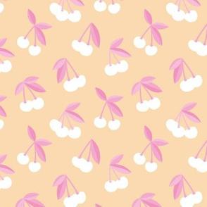 Little Cherry boho love garden for spring summer nursery design neutral soft creme yellow pink white girls