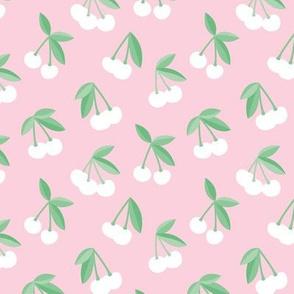 Little Cherry boho love garden for spring summer nursery design neutral pastel pink mint green girls