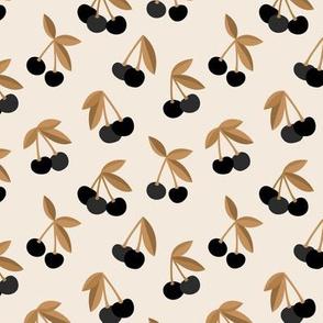 Little Cherry boho love garden for spring summer nursery design neutral cinnamon rust black and beige