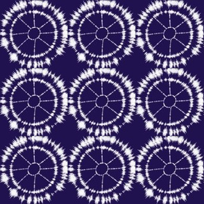 Shibori Spokes and Wheels.
