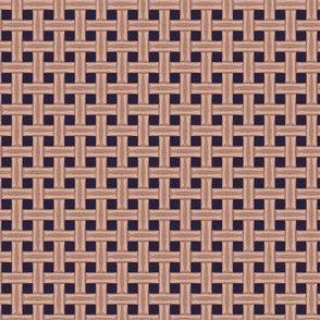 Wicker wood texture.Vector seamless pattern-01