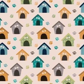 Pink Purple Woodland Owls Floral