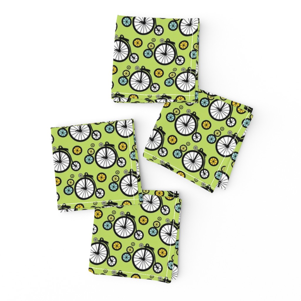 Frizzle Cocktail Napkins featuring I Want To Ride by kiwicuties