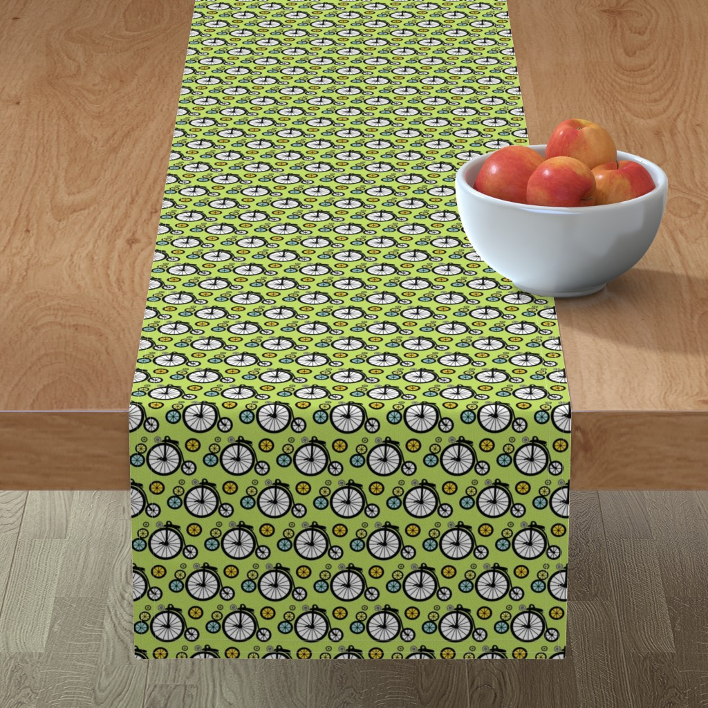 Minorca Table Runner featuring I Want To Ride by kiwicuties