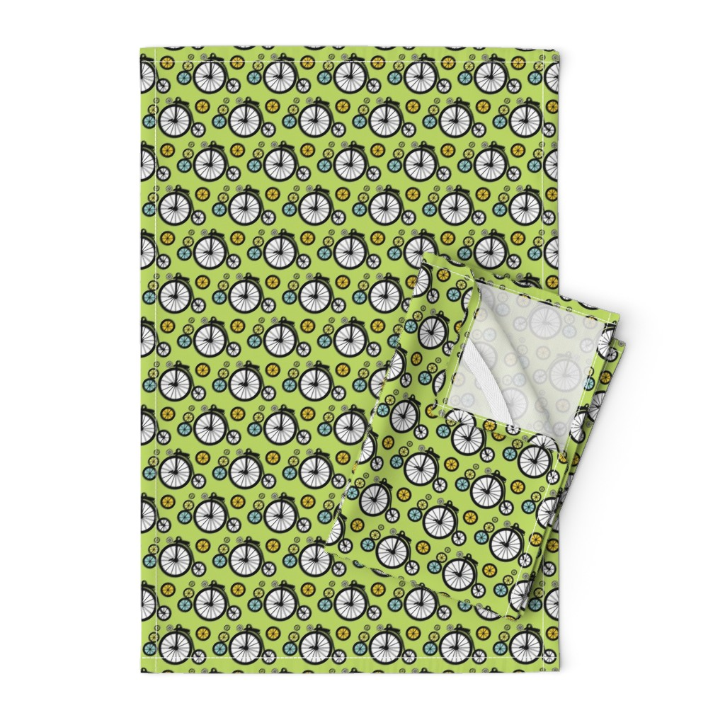 Orpington Tea Towels featuring I Want To Ride by kiwicuties