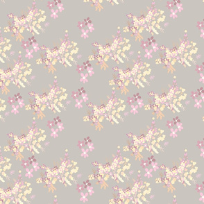 dainty floral- pink