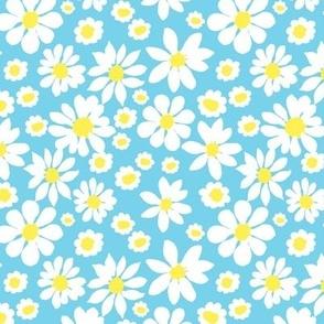 Daisy Allover Blue