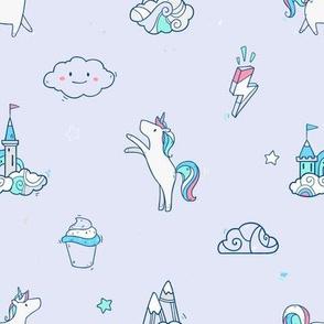 Unicorns,  cupcakes and castles