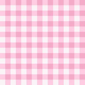 Pretty pink plaid