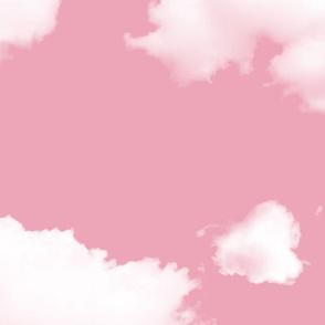 Clouds v2 pink