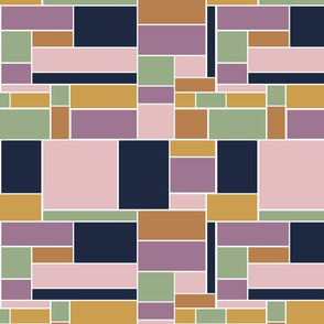 Boho Blocks Geometric