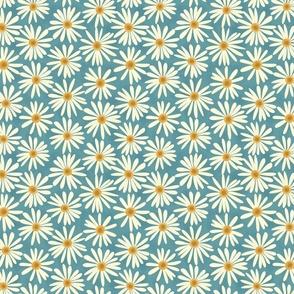 Shasta Daisies { teal - small }