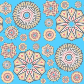 Arizona Starburst Kaleidoscope Mixed Patterns