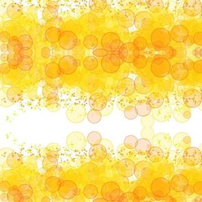 yellow bubbles