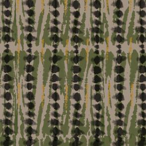 Modern Tie Dye-Olive & Khaki