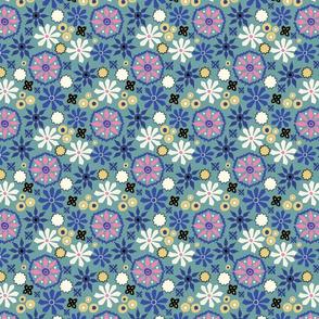 Spanish Charm - Blue