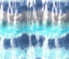 Tie-dye stripe blue