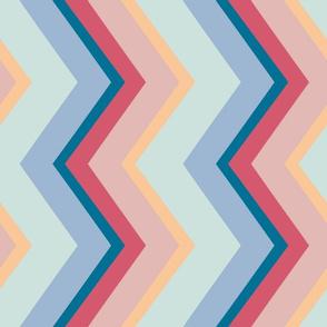 Sultry Stripes: Saint-Tropez, Sideways (Medium Band Width)