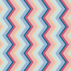 Sultry Stripes: Saint-Tropez, Sideways (Smaller Band Width)