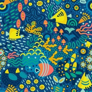 """Nuggety Coral Reef 10"""""""