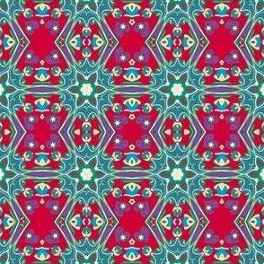 Tie Dye 90s Cool Winter Seasonal Color Palette