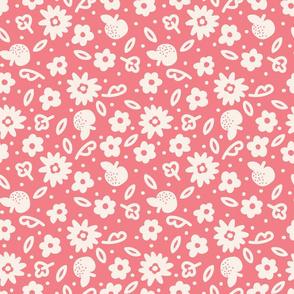 Grand Fleurs rose