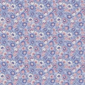 Petit Fleurs blue