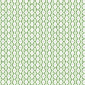 Diamond Stripe - Grass