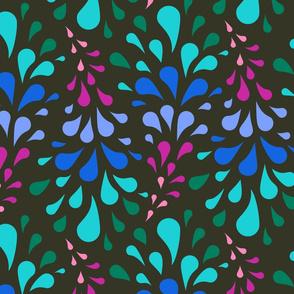 Color Splash - Gray, Green, Blue, Pink, Aqua