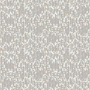 Soft Dashes- Grey