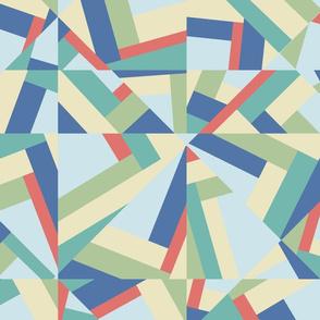 Color Block Kaleidoscope, Large Scale