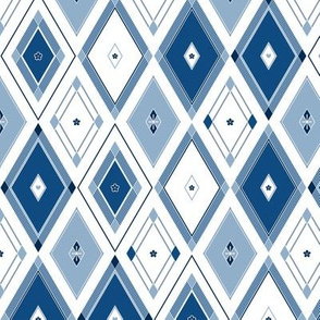 Glory (blue and white)