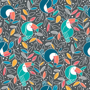 Tossed Toucans