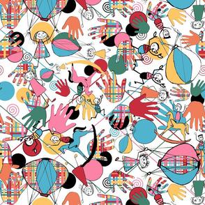 Kolorful Kids Kouch 4 Nugget