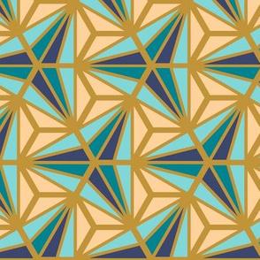 Geometric Pattern: Hexagon Ray: Dream