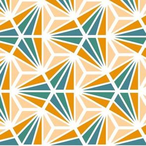 Geometric Pattern: Hexagon Ray: Lily